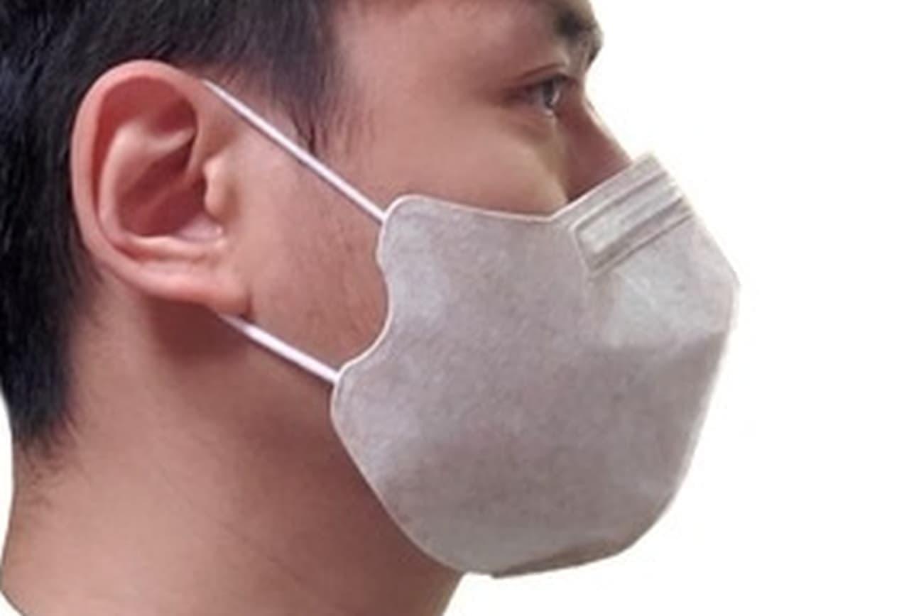 マスクを洗うのが面倒!という人に 1週間使える使い捨てマスク「銅Cuマスク」