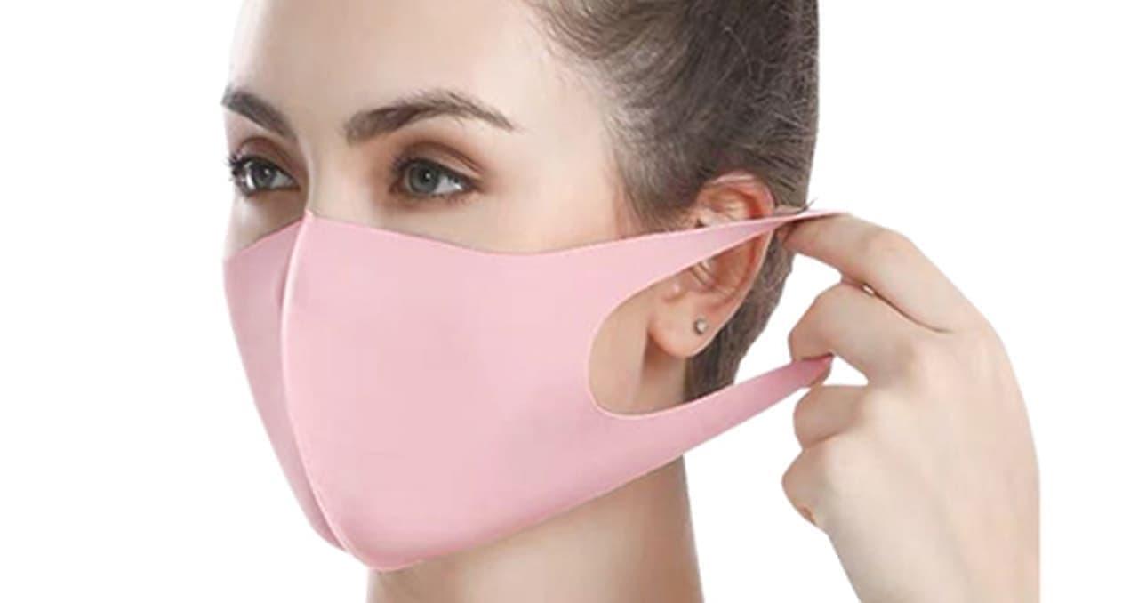 アイスシルクコットン使用 接触冷感の夏マスク「アイスシルクマスク」第2回予約販売