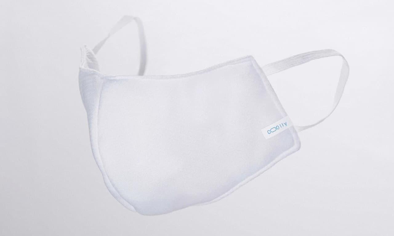 今治タオルメーカーからスーパークールマスク「クーリイ」 - 水に濡らしてふればひんやり