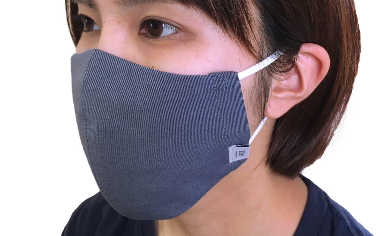 接触冷感マスク「夏用!Ripo冷感ハイブリットマスク」再販開始 今回は子ども用サイズも