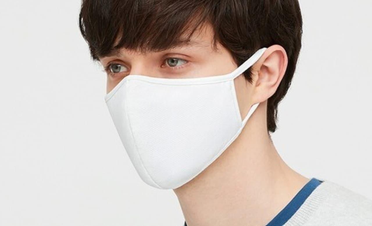 ユニクロが「エアリズムマスク」をオンラインストアで販売しています