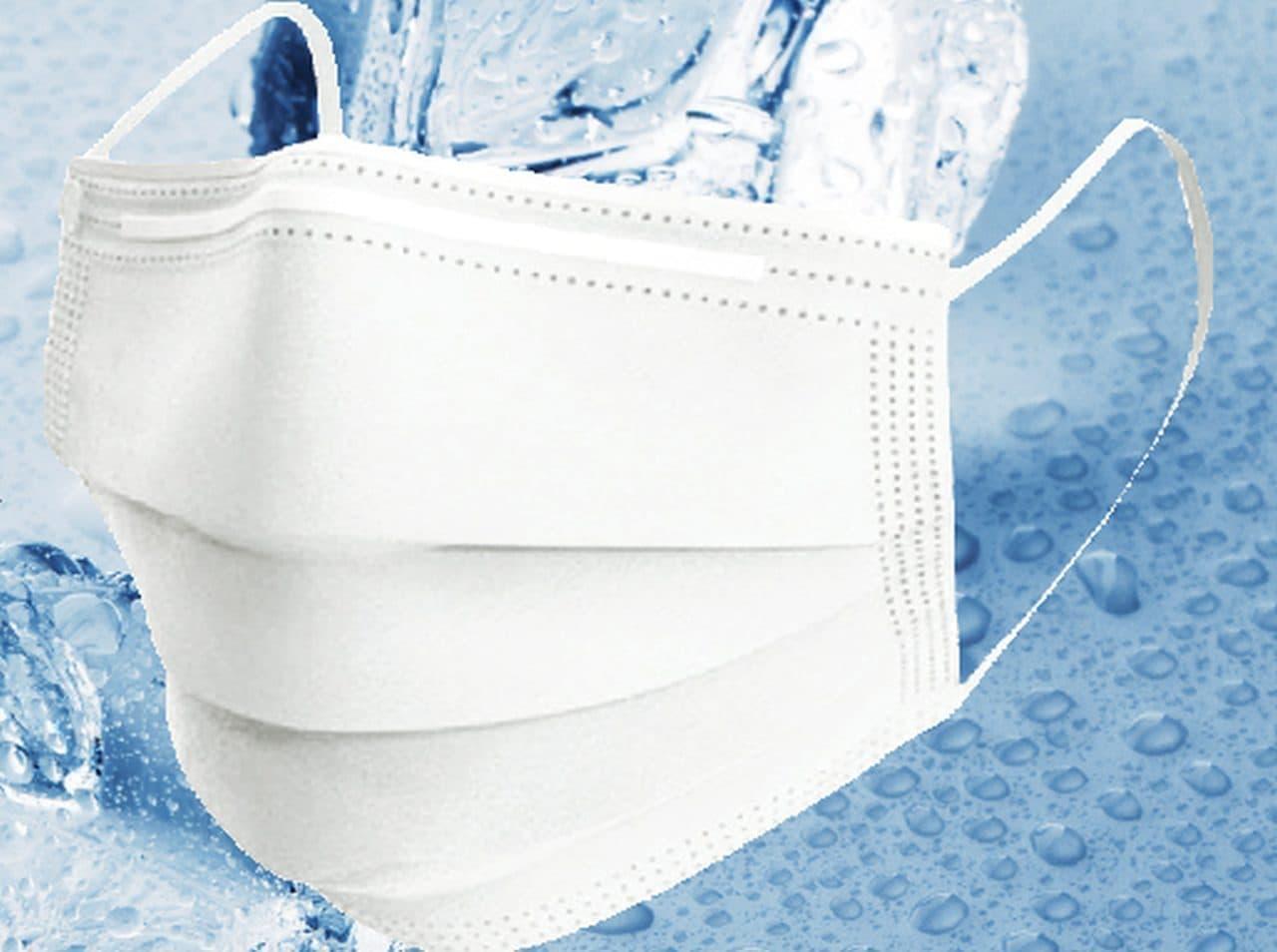 「超冷感 COLD MASK」シリーズに不織布マスク「-F Type-」 - 洗濯が面倒な人向けの使い捨て夏マスク