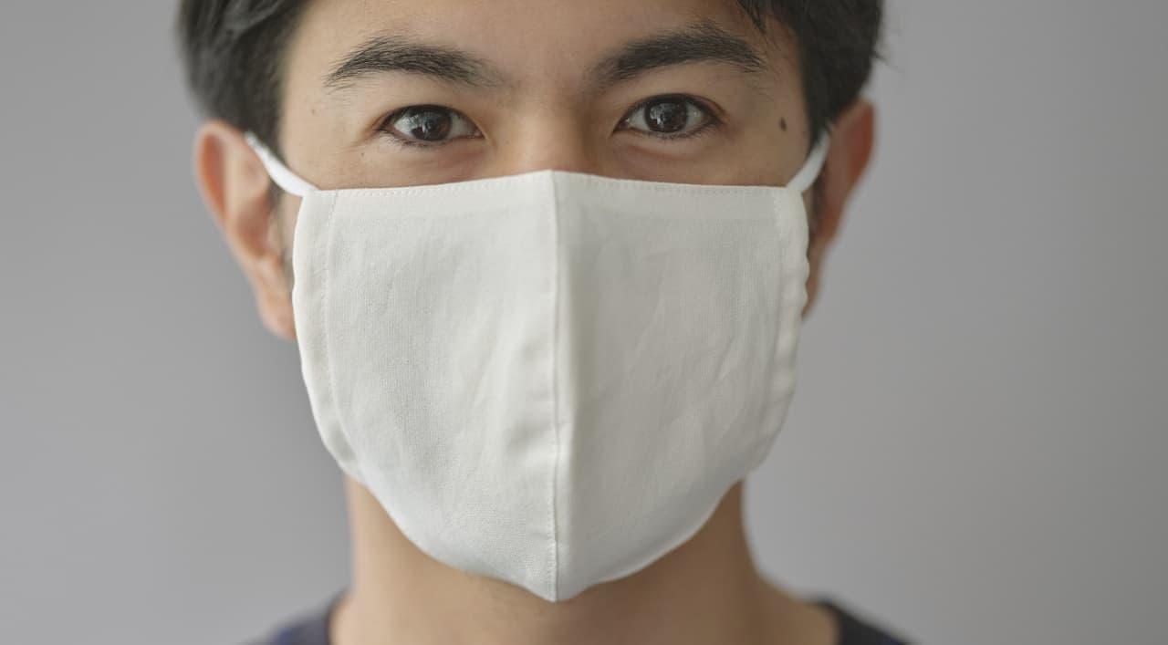 敏感肌の人にもおススメ 和紙100%素材を使用した「UNDERSON UNDERSONオリジナル和紙マスク」