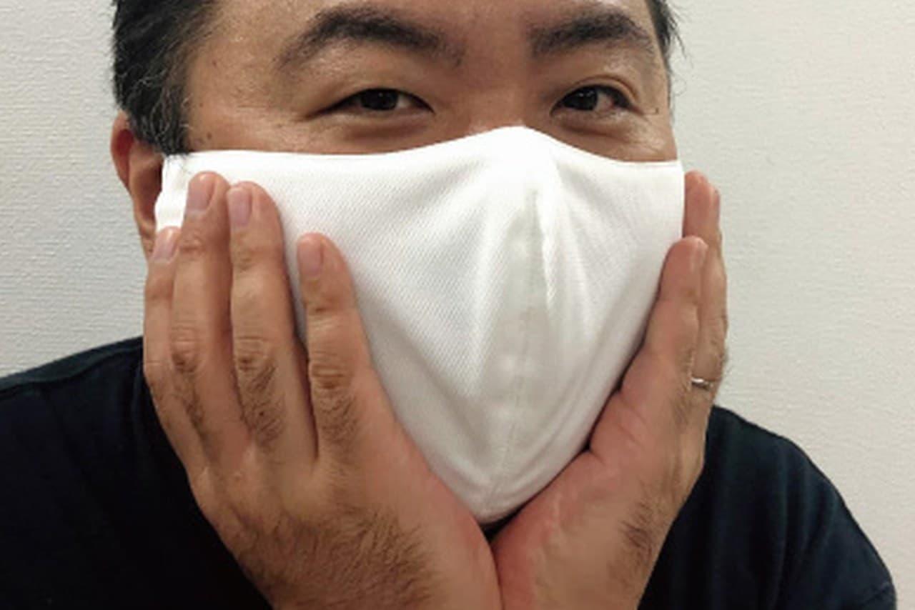 横幅なんと29センチのマスク!「メガ布マスク」シリーズに超大きな「ギガ布マスク」