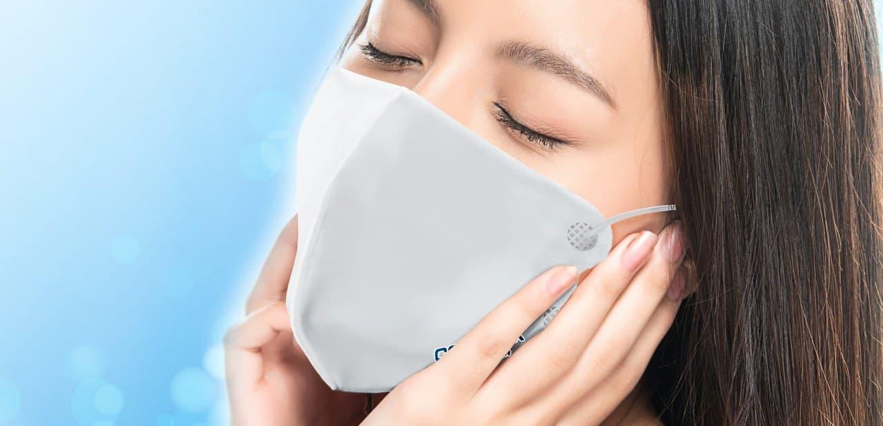 アイスシルク増量! Q-MAX値0.5以上を達成した接触冷感マスク「COOLMAX Premium」