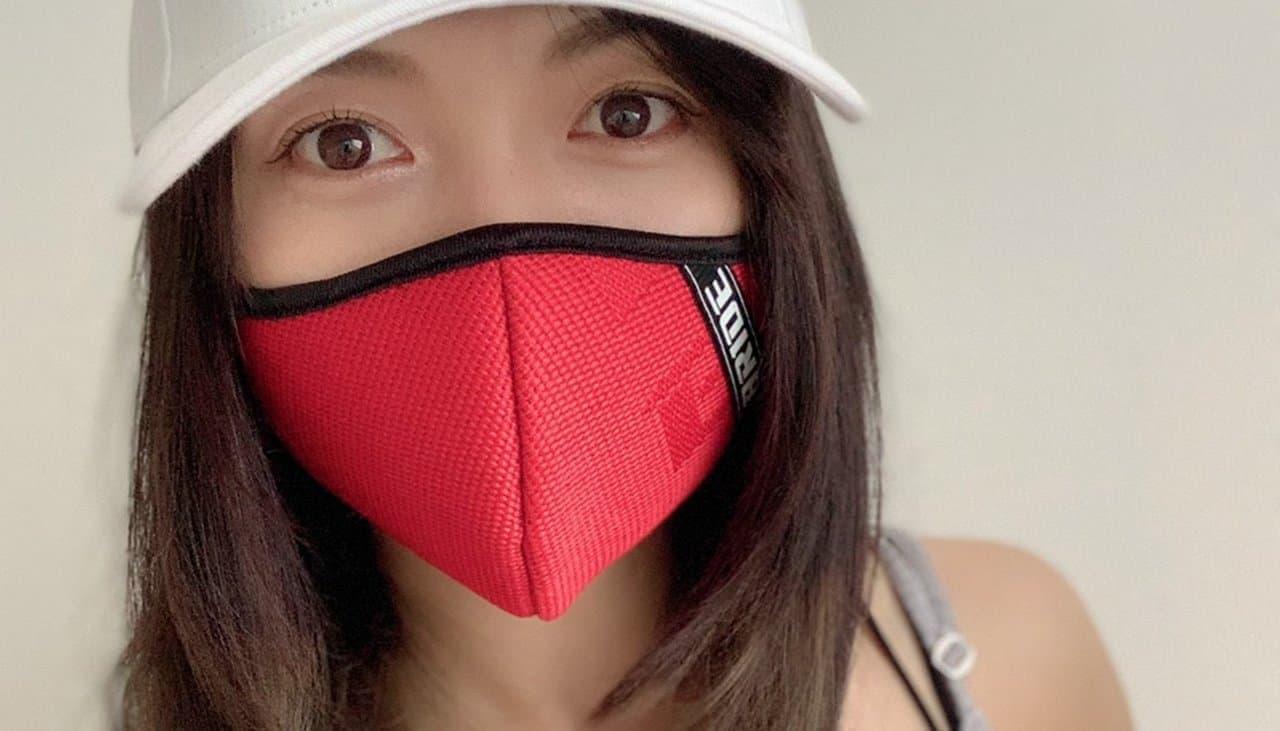 クルマ好きのマスクBRIDE「BR3Dマスク」に新色「レッド」追加発売 ― 自動車シート製造で培った技術を活用