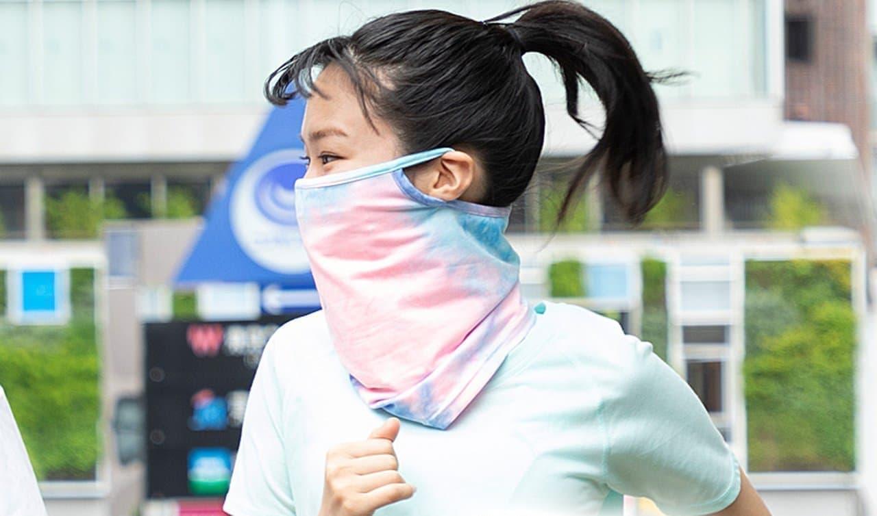 スポーツプロショップB&Dから「接触冷感フェイスカバー」発売 - ランニング中の息苦しさ・暑苦しさを解消