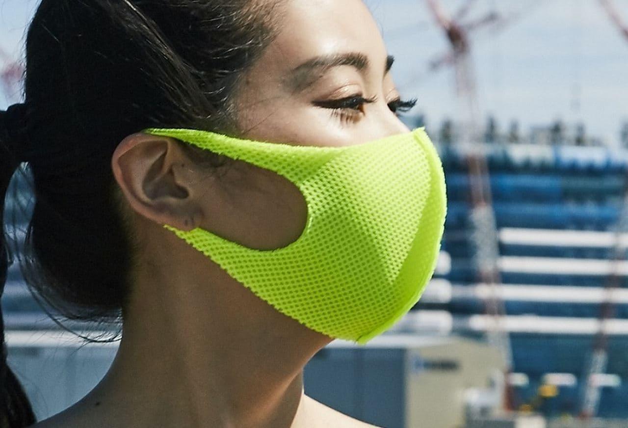 メッシュ100% 付けている感覚ほぼゼロのマスク「Barzagli Mask ZERO」