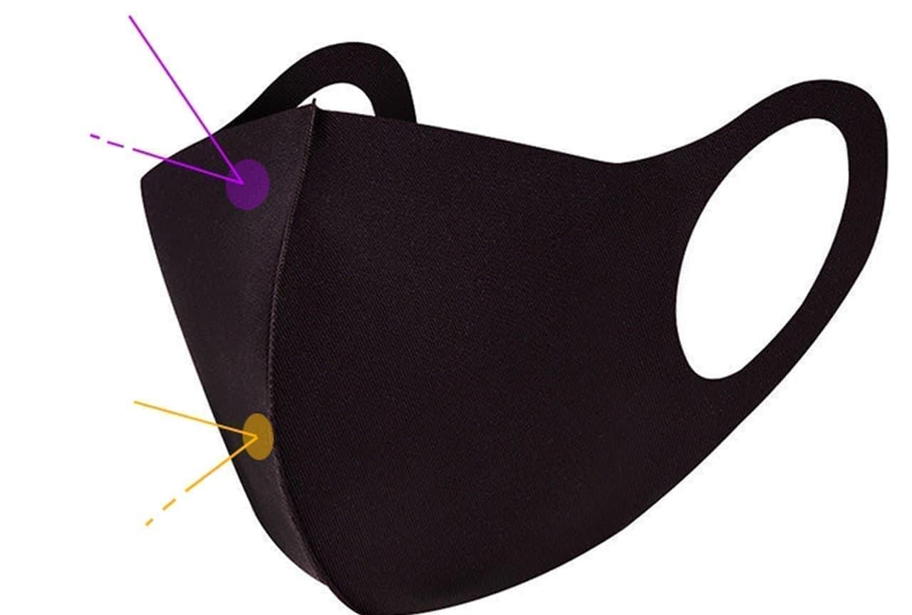 アイスシルクコットン使用 接触冷感の夏マスク「アイスシルクマスク」第4回予約販売開始