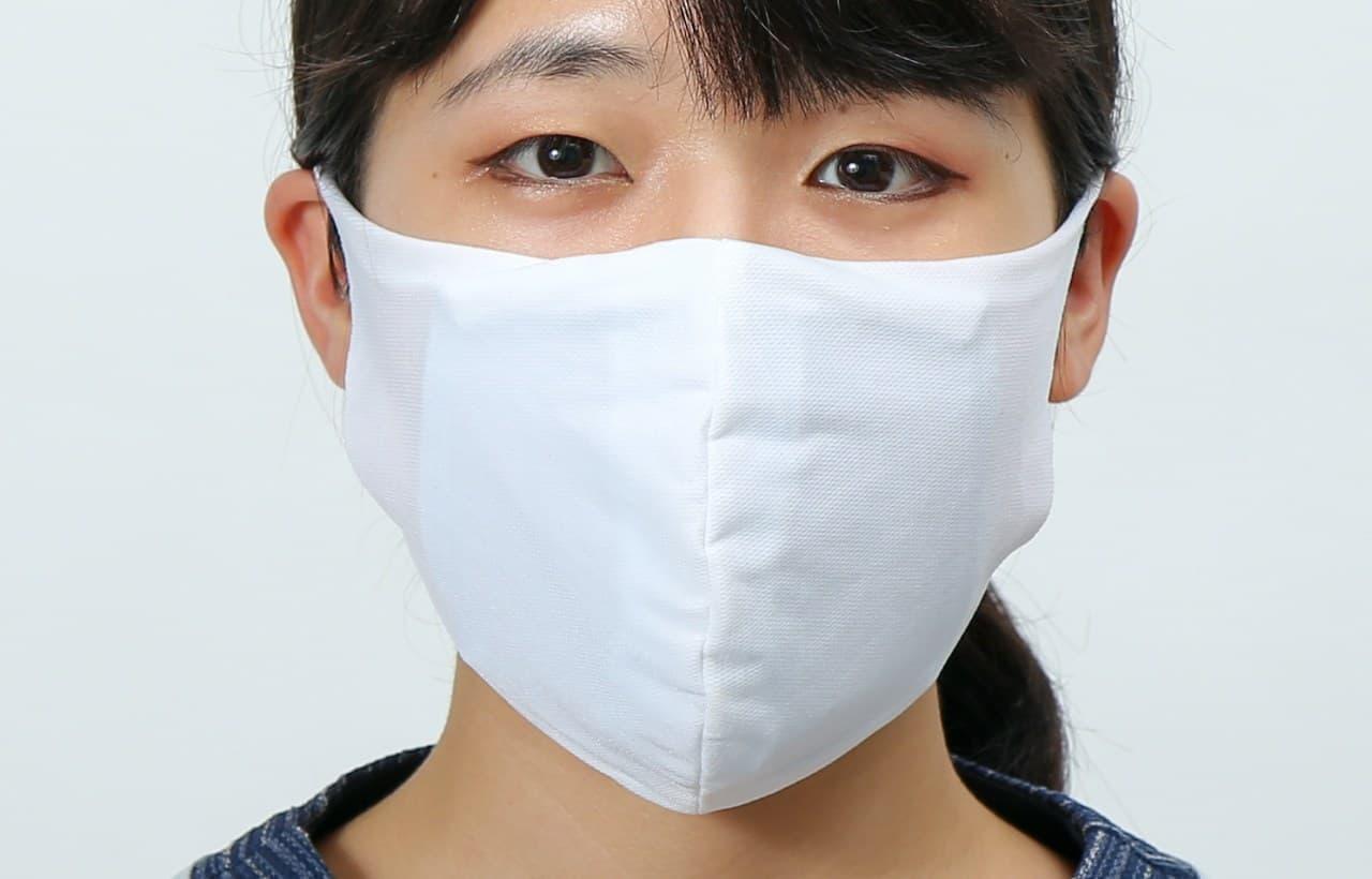 ガーゼ 不織布に続く第三世代マスクに冷感タイプの「ハイブリッドタイプマスクHG」登場