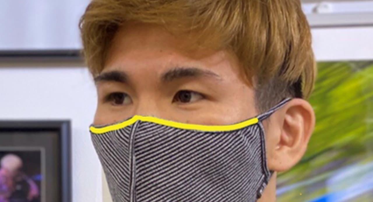 摩擦レスな包帯スポーツマスク「HOHTAI ATHLETE MASK(包帯アスリートマスク)」Makuakeに登場