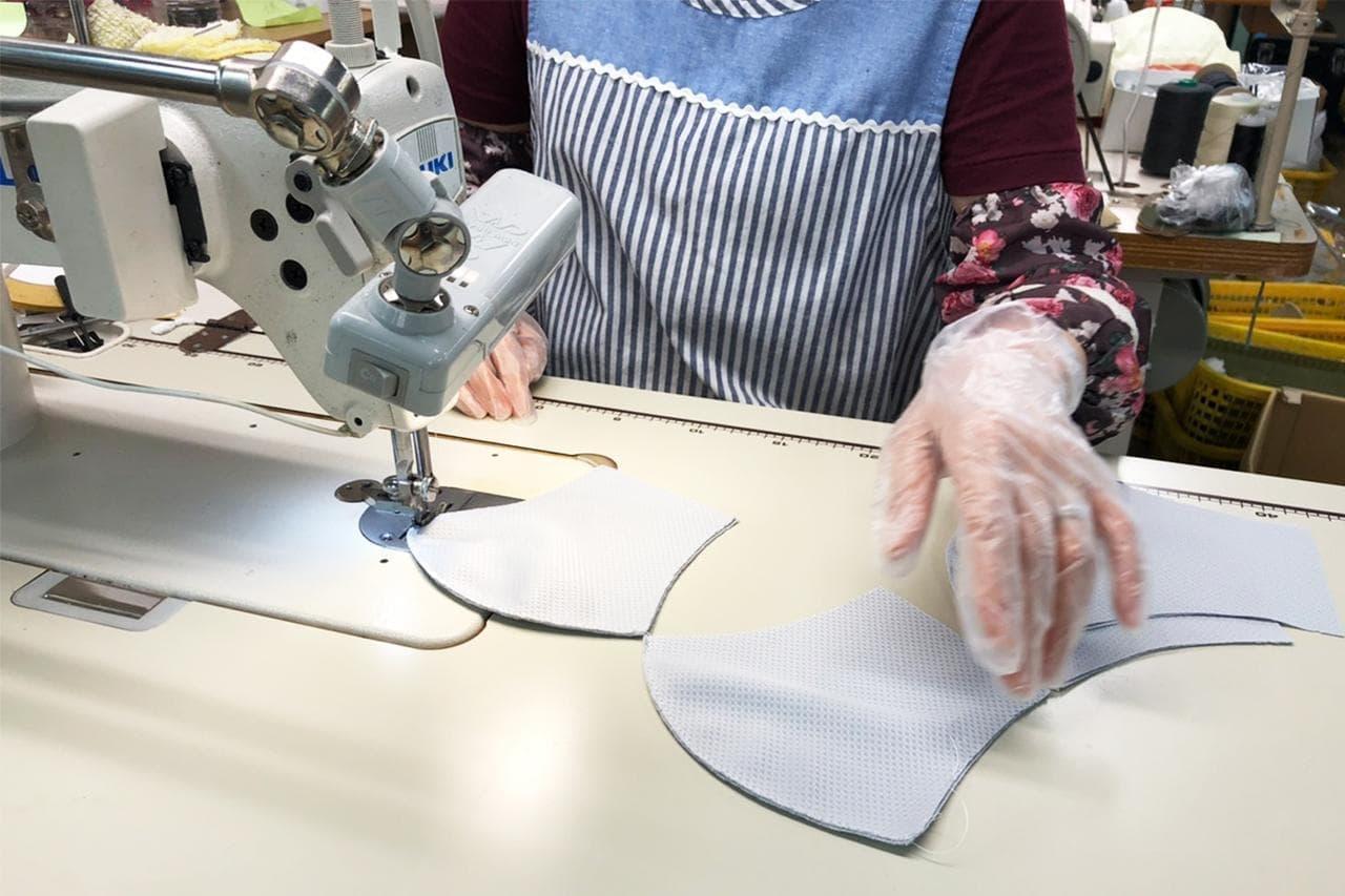 保冷剤を入れるポケット付きの夏マスク「COOLIST Air」本日(7月31日)販売開始