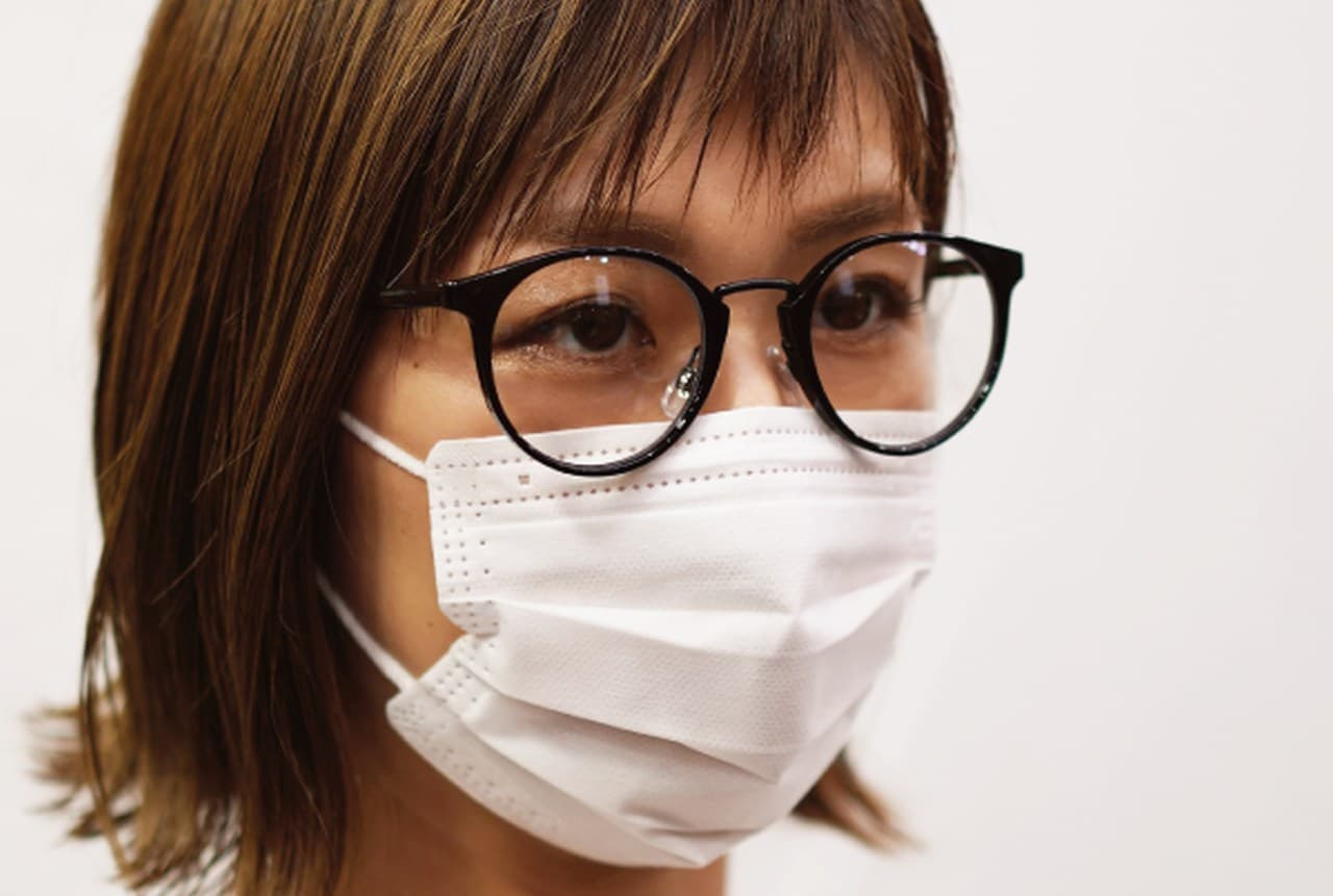 ウイルスから目を守る「くもらない!マスク用だてメガネ!」
