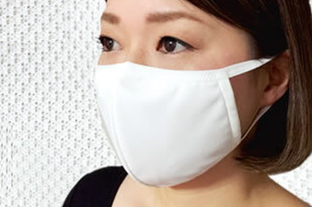 接触冷感値0.415! 特殊素材NANOMIXを採用した「肌にやさしい冷感マスク」