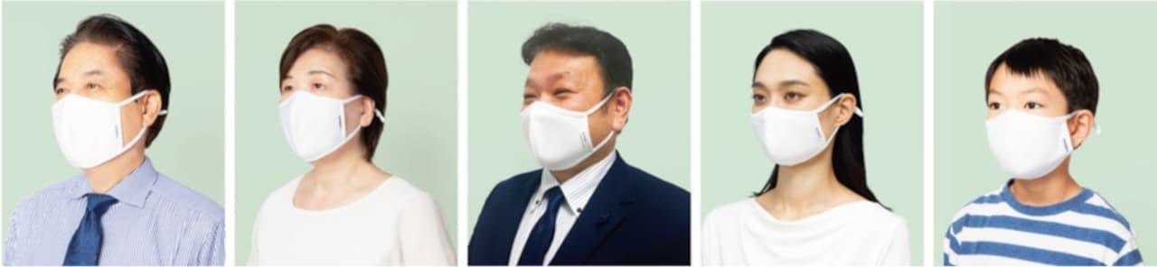 AOKI「アジャスター付きダブル抗菌・洗えるクールマスク」