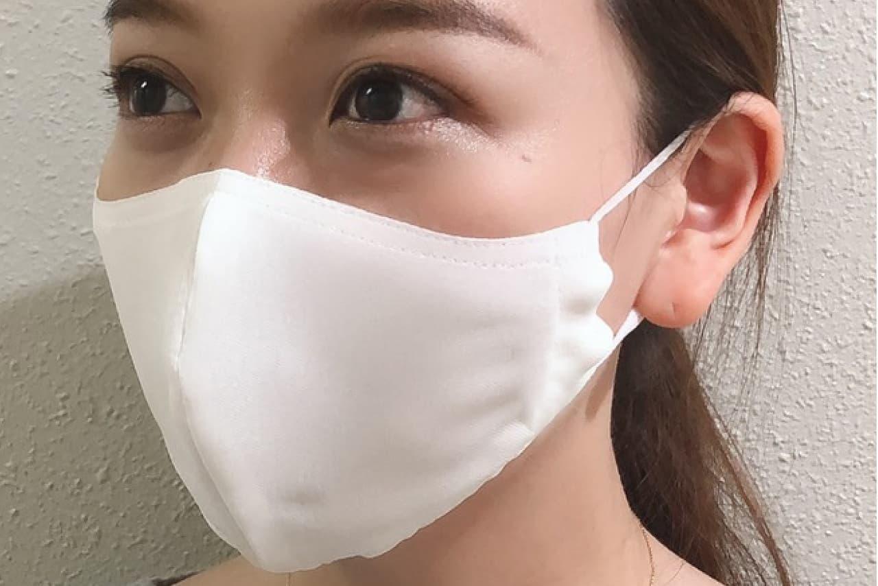 ひんやり国産「繰り返し洗える冷感マスク」