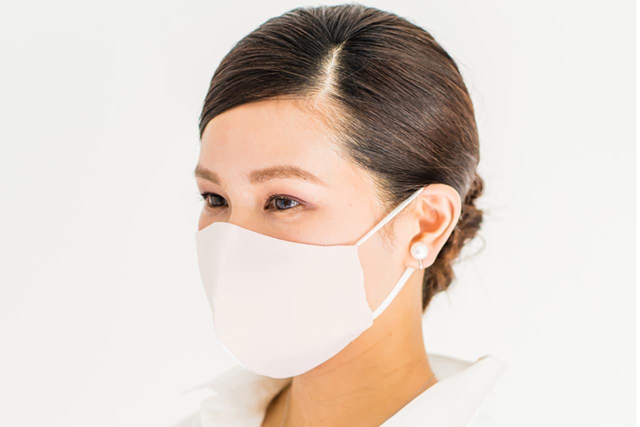 ひんやり&抗菌の「夏マスク」
