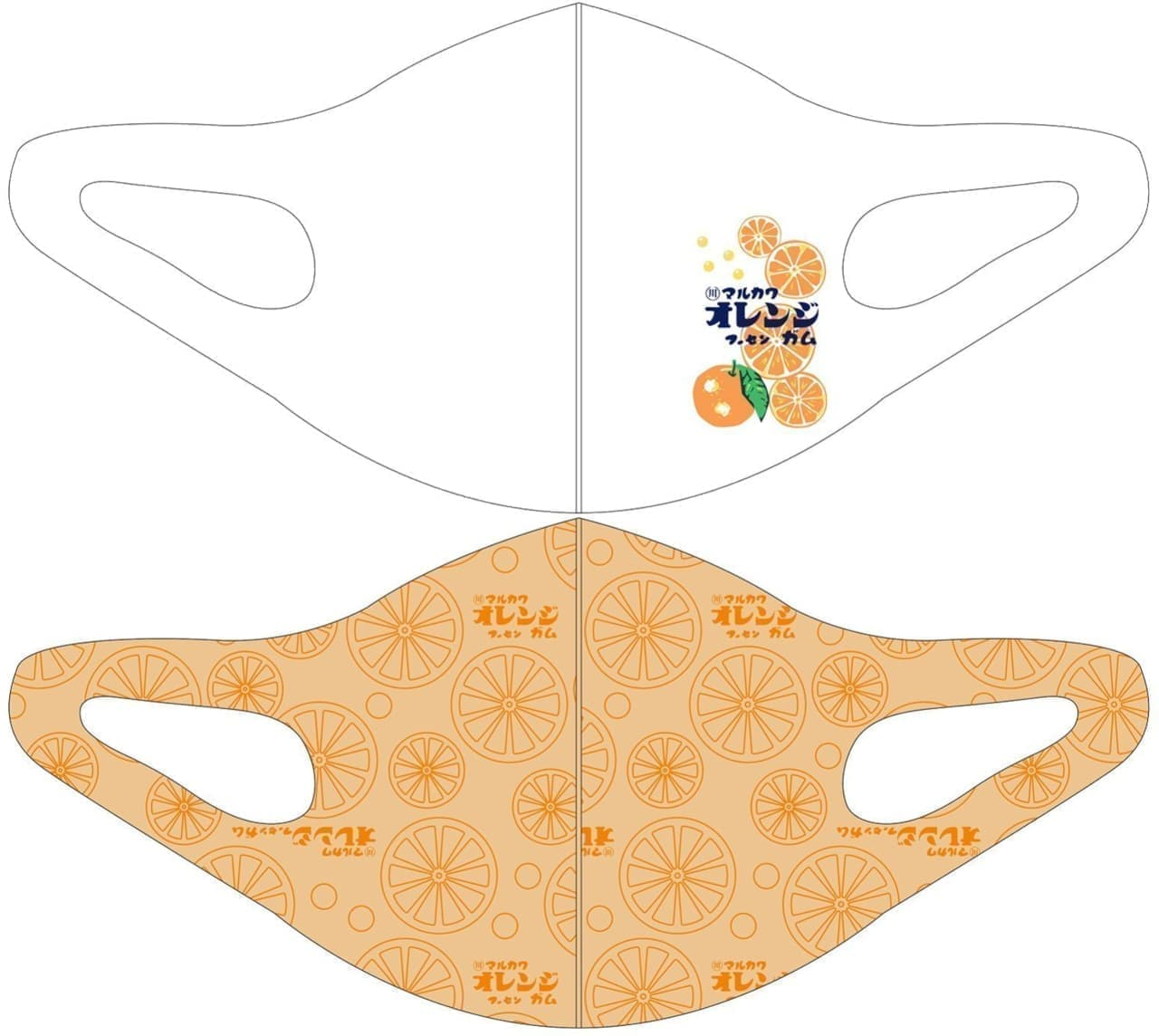イオングループのコックス 冷感マスク「企業コラボマスク」