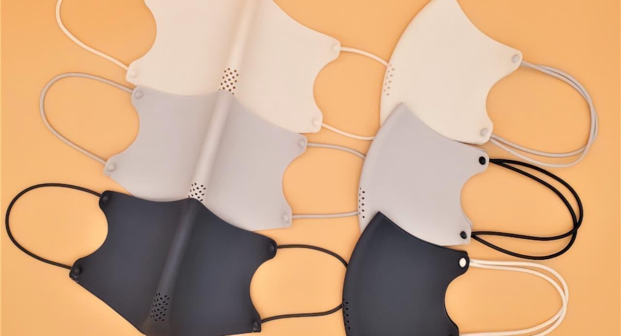 樹脂製抗菌マスク「WinFit」にひも交換式が登場