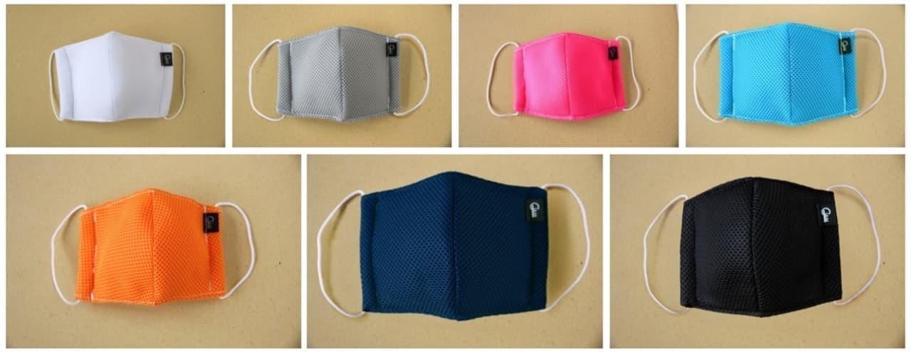 縫製職人がつくる夏向き抗菌メッシュマスク