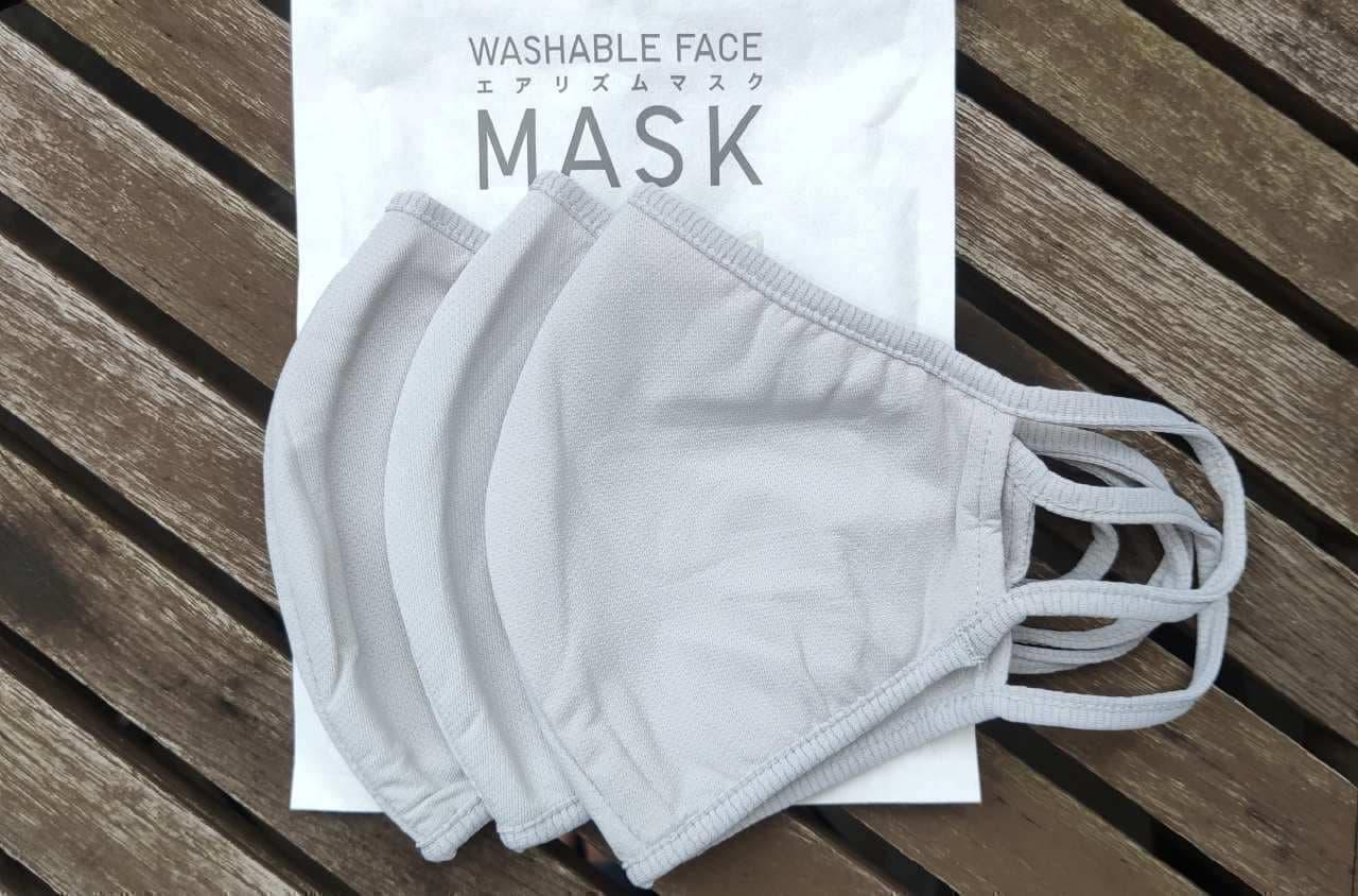 進化したユニクロ 新型「エアリズムマスク」 ― 新色「グレー」いけてます