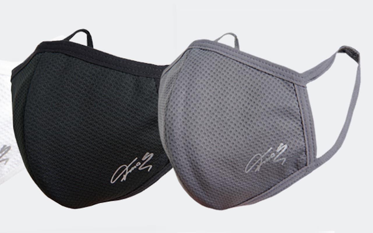 水で濡らして振ればひんやり スポーツブランドT-MAC「T-MAC UV COOLマスク」