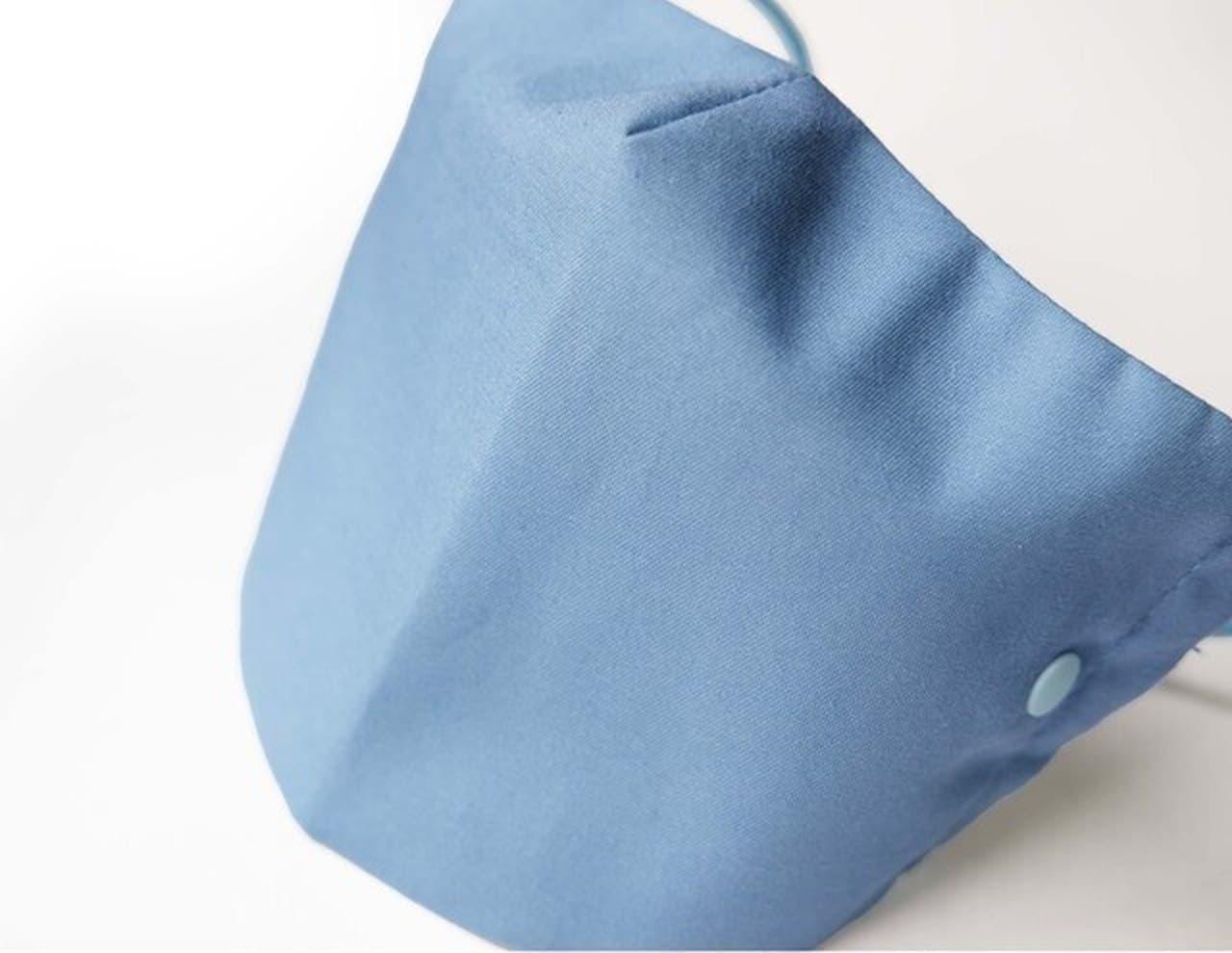 使わないときはパチンと閉じる ケースがいらない「サッと収納マスク」