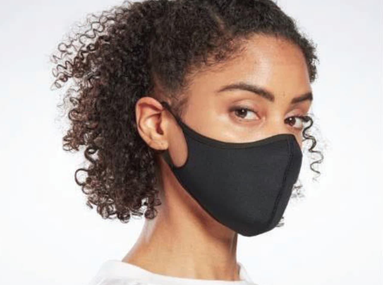 リーボックが「Reebok Face Cover」を発売 - ソフトで通気性の高い素材を使用