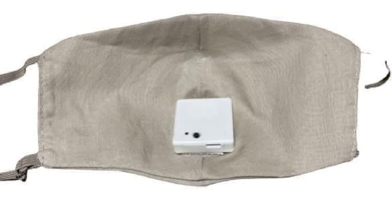 ファンを付けるとマスクは涼しい! 市販のマスクに装着できる「Smart Fan」