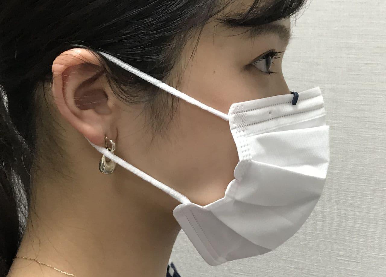 マスク内を快適にするインサイドホルダー「Musha_Kuchimoto(武者 口元)」