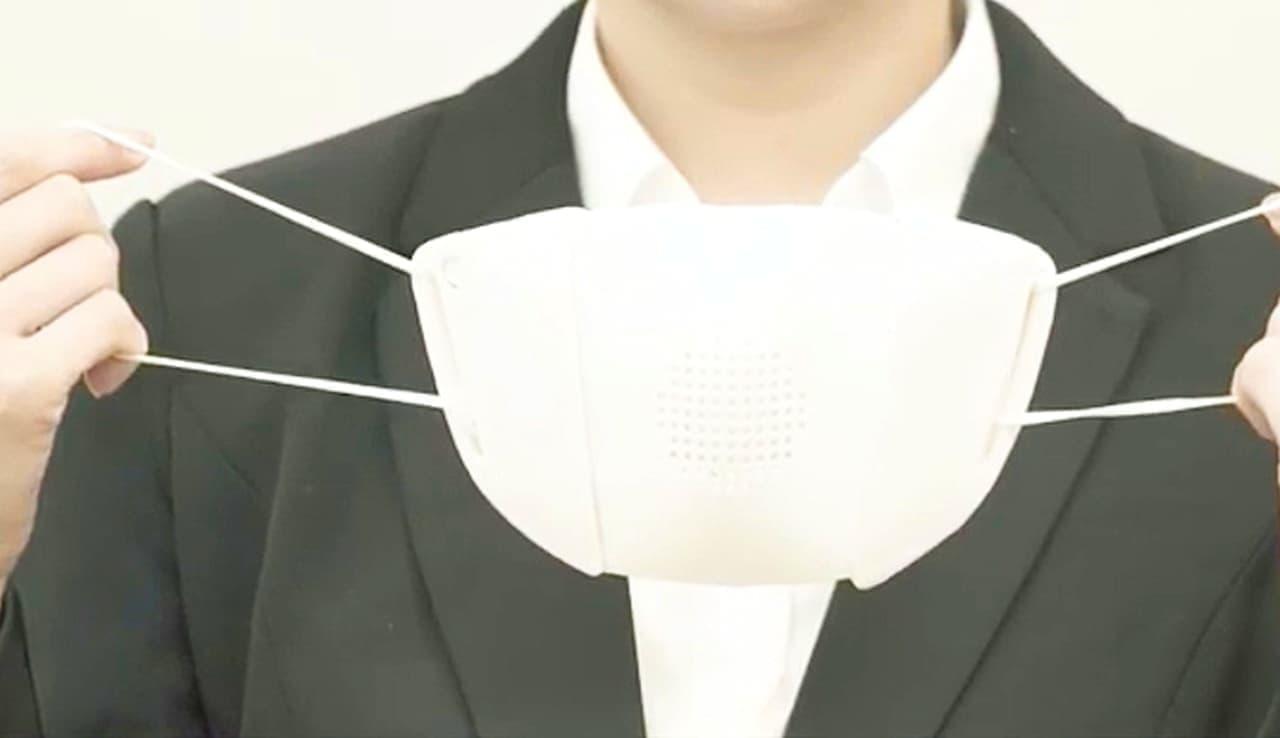 通訳するマスク「C-FACE」 - マスク越しの会議もスムーズに