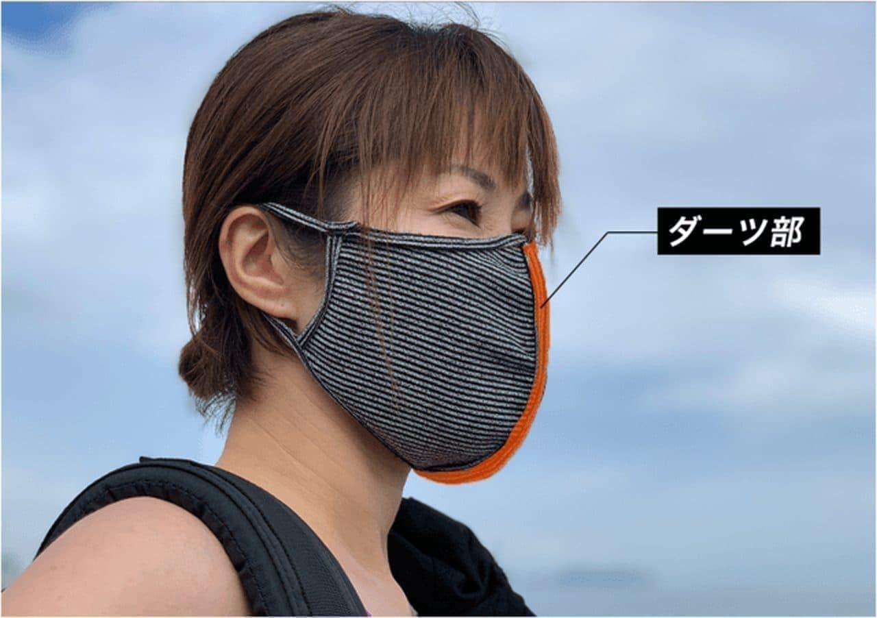 包帯アスリートマスク 9月から一般販売開始