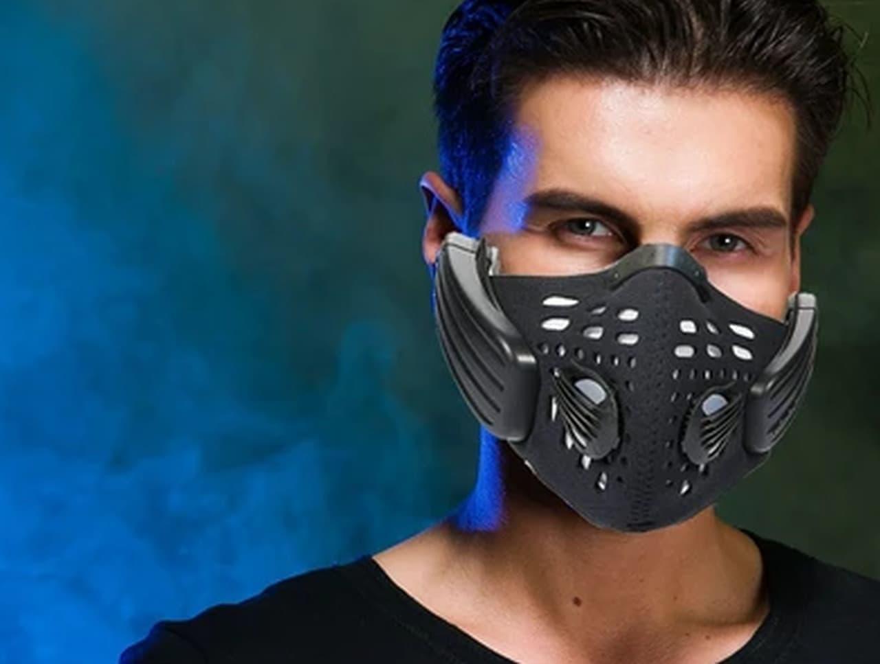 骨伝導スピーカー付きのマスク「Bone Conduction Audio Mask」