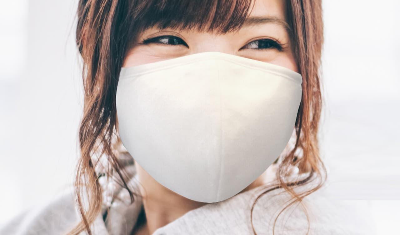 天然竹繊維と医療レベルナノフィルターを装備した秋マスク「ナノ抗菌バンブーマスク」