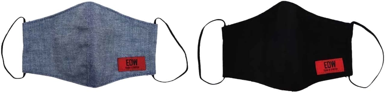 EDWINとカインズのコラボブランドEDWによる「EDW洗えるマスク」9月4日再販売開始
