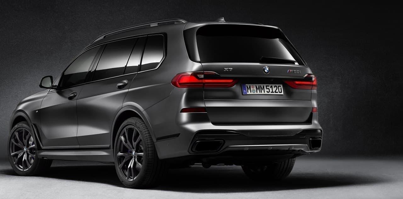 BMWのスポーツ・アクティビティ・ビークル(SAV)に漆黒の限定車「BMW X7 Edition Dark Shadow」