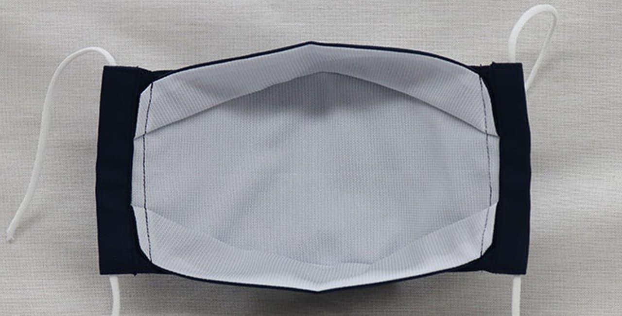 かりゆしウェア生地のマスク「MAJUN夏用布マスク」に無地タイプ9月9日12時発売