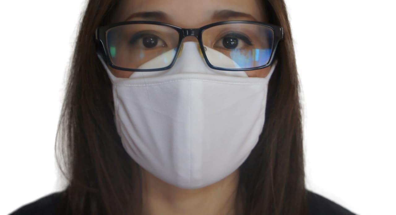 「メガネが曇らない洗える冷感マスク」再販開始