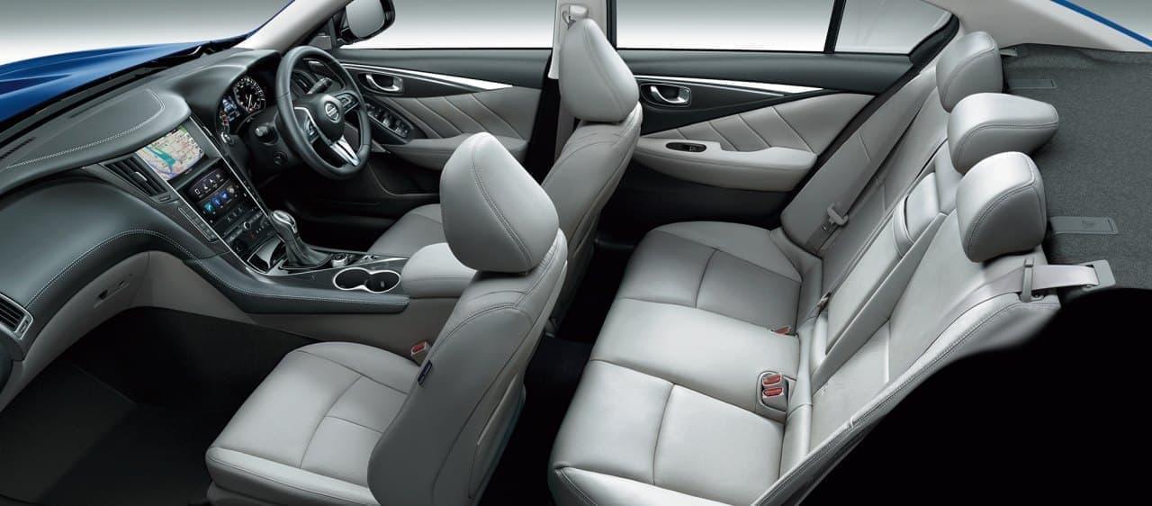 405馬力の「400R」に専用新色「スレートグレー」- 日産「スカイライン」仕様向上