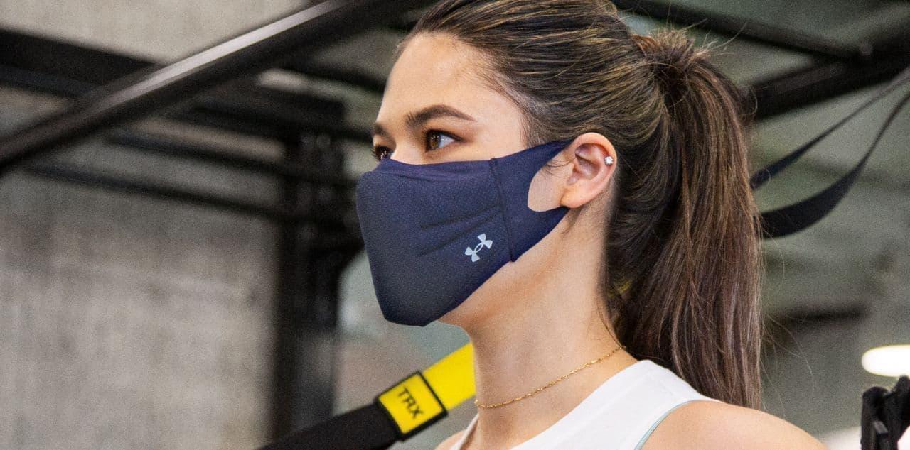 アンダーアーマー「UAスポーツマスク」に新色「パープル」「グレー」「ネイビー」追加