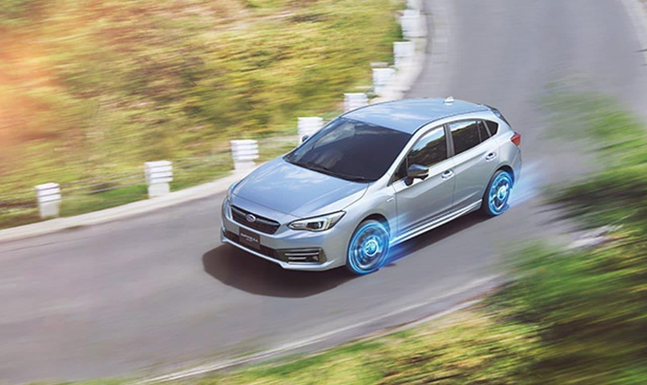 SUBARU「インプレッサ」に「e-BOXER」搭載モデルと最上級グレード「STI Sport」新設定