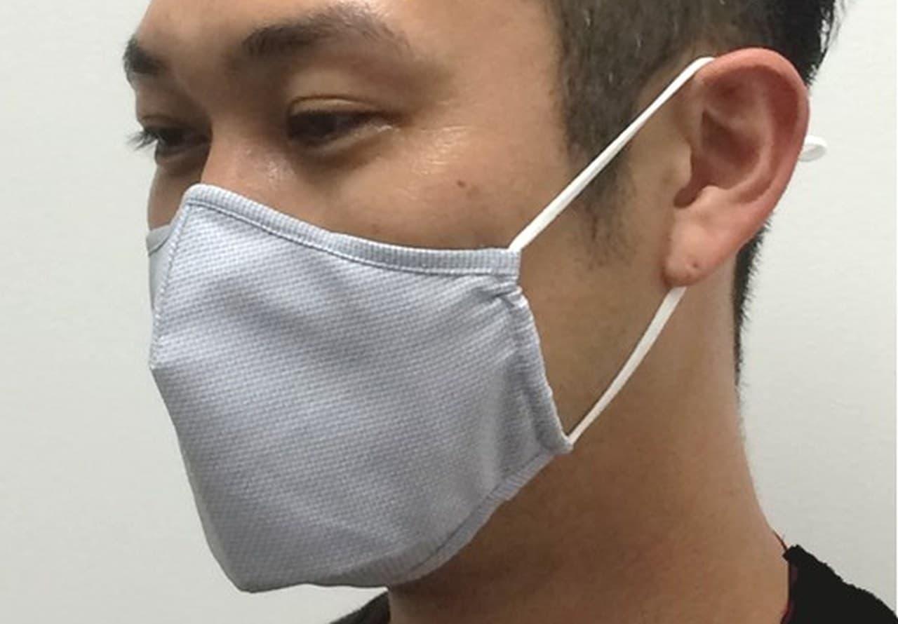 イオンから「トップバリュ Shirt Mask(シャツマスク)」発売 - 形態安定シャツ生地を使用しているから洗濯してもシワになりにくい