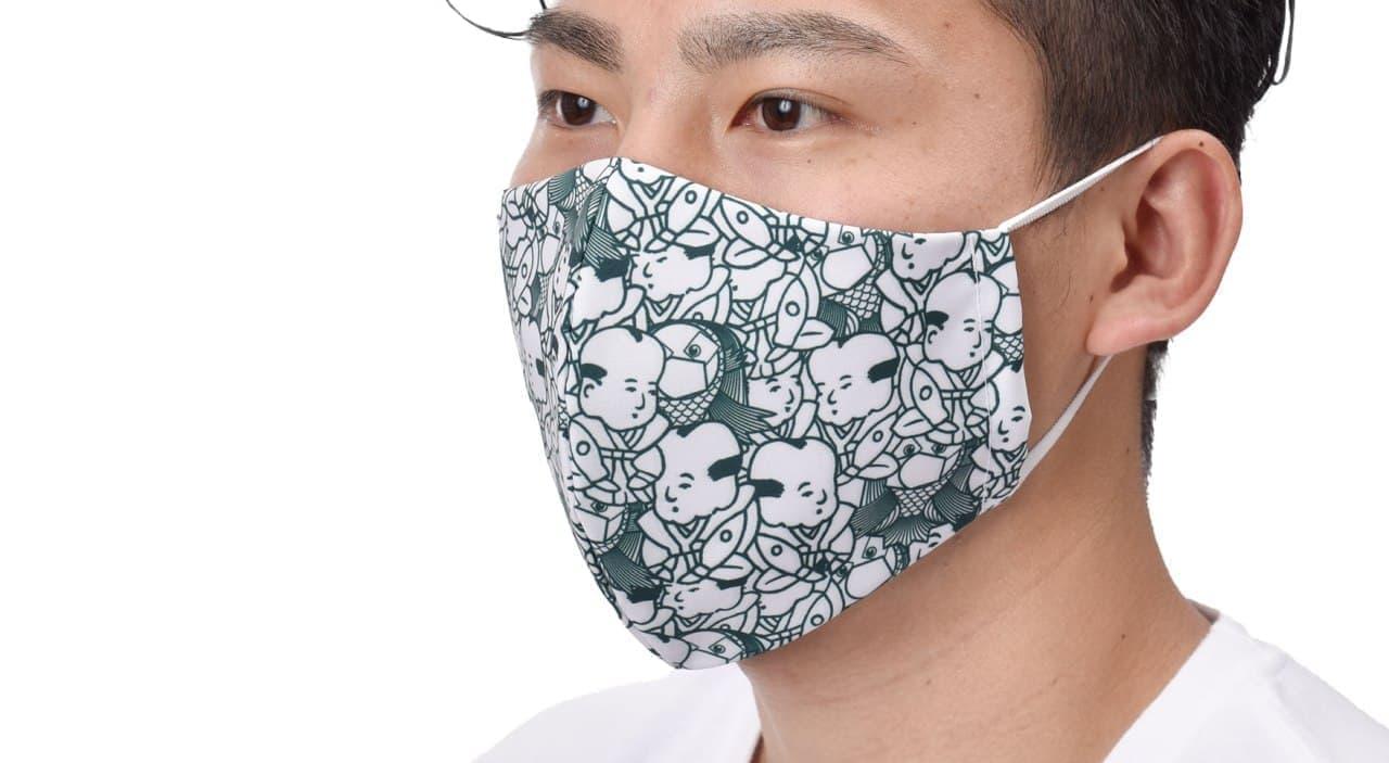 福助とアマビエがコラボ?「足袋職人がつくったマスク」に新型コロナウイルス感染症終息を願ったデザイン登場