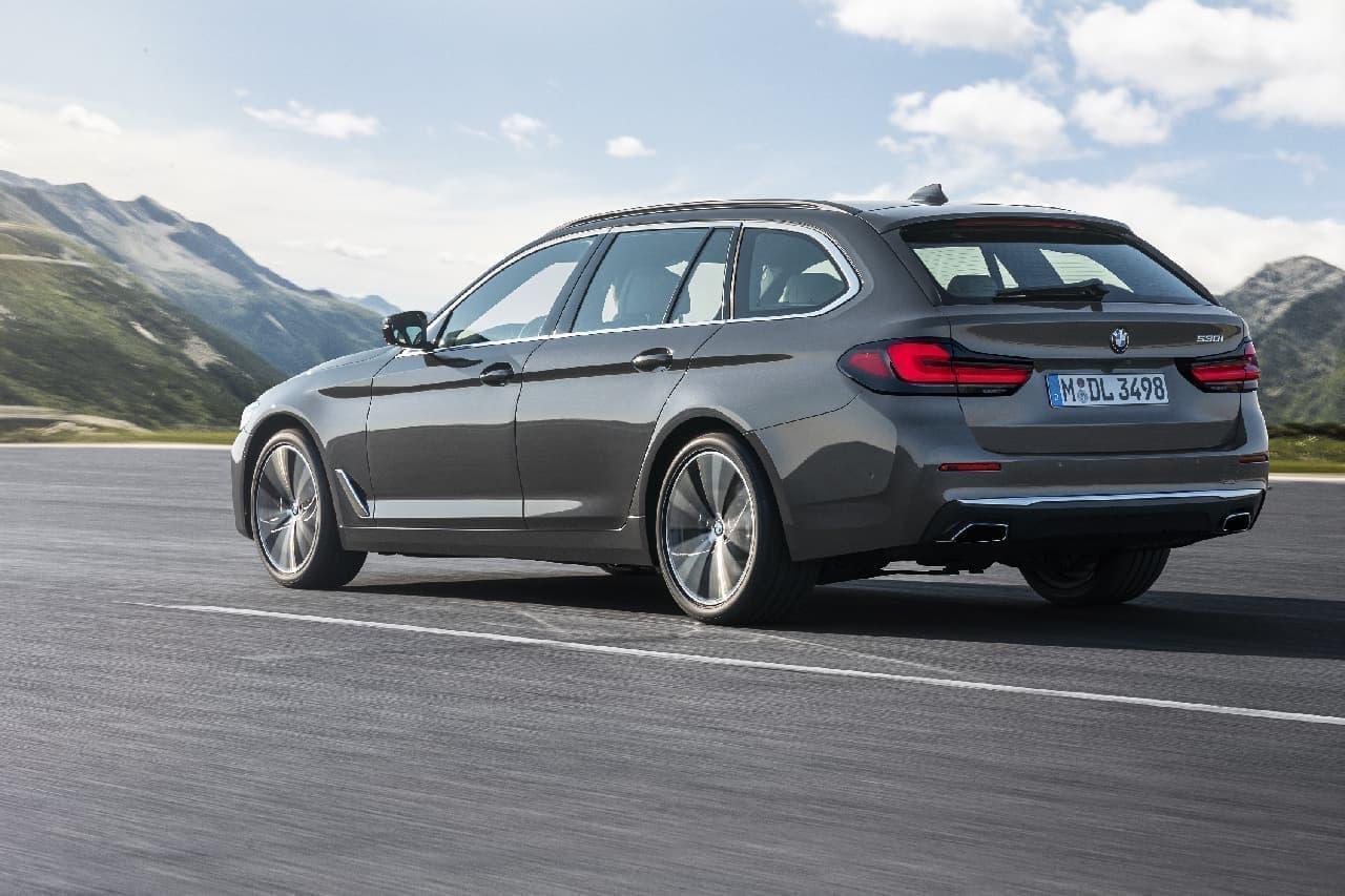 新型BMW 5シリーズ セダン/ツーリング発売
