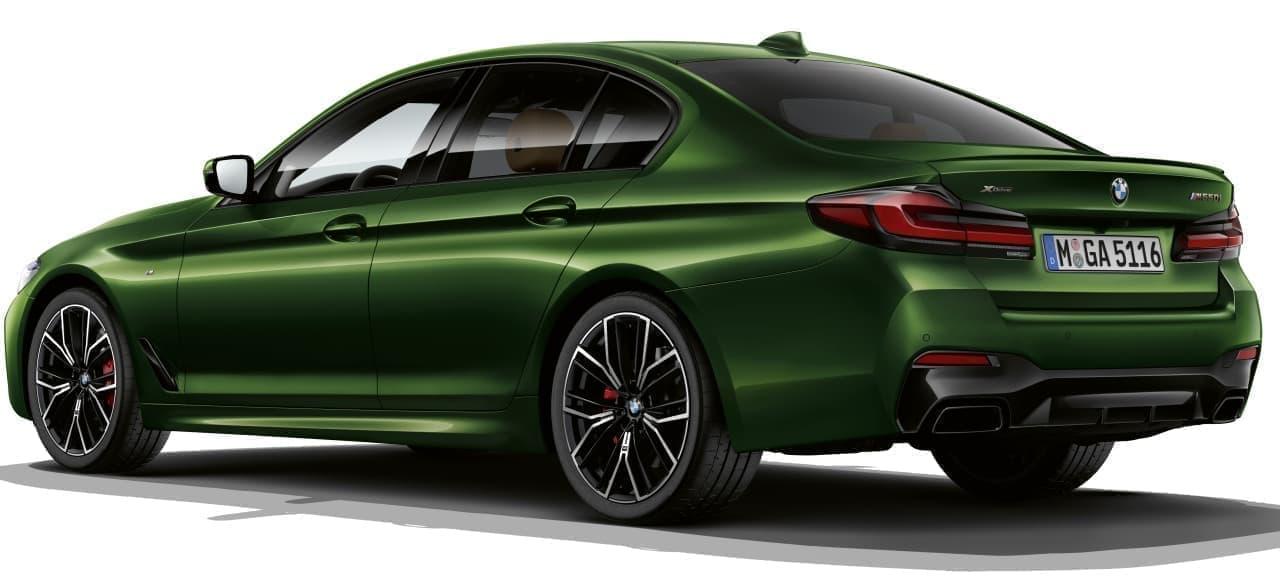 新型BMW 5シリーズをベースにした2つのM! サーキット向けBMW M5と走行性能を高めたBMW M550i xDrive