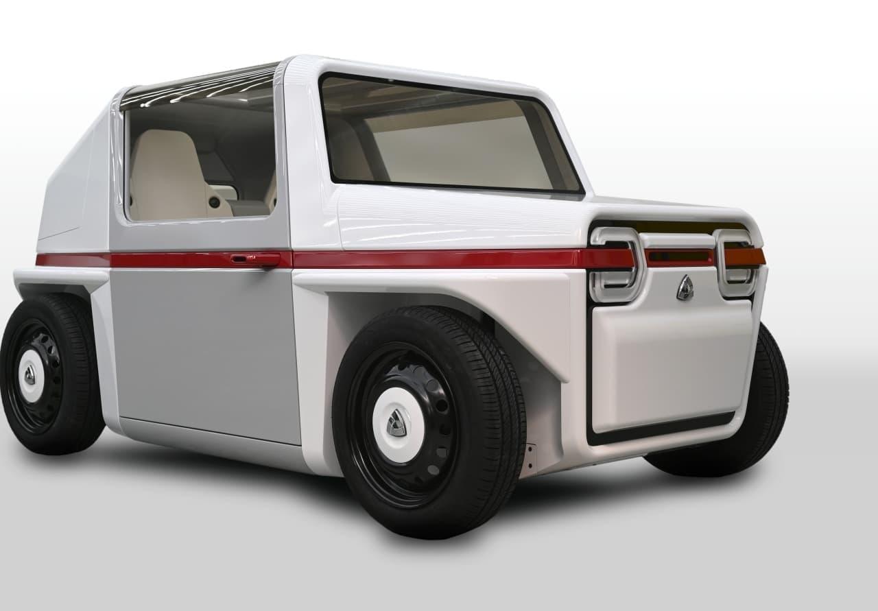 2人乗りの水素自動車「AZAPA-FDS Concept」