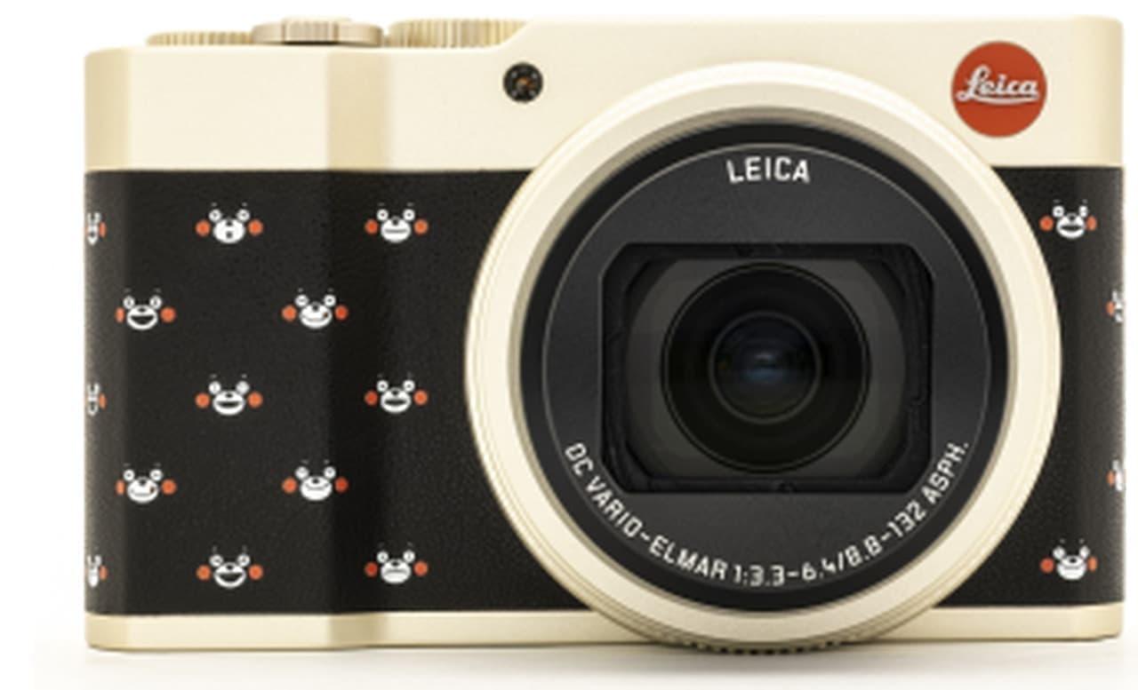 ライカで写真を撮るモン くまモンデビュー10周年を記念したコンパクトデジタルカメラ発売
