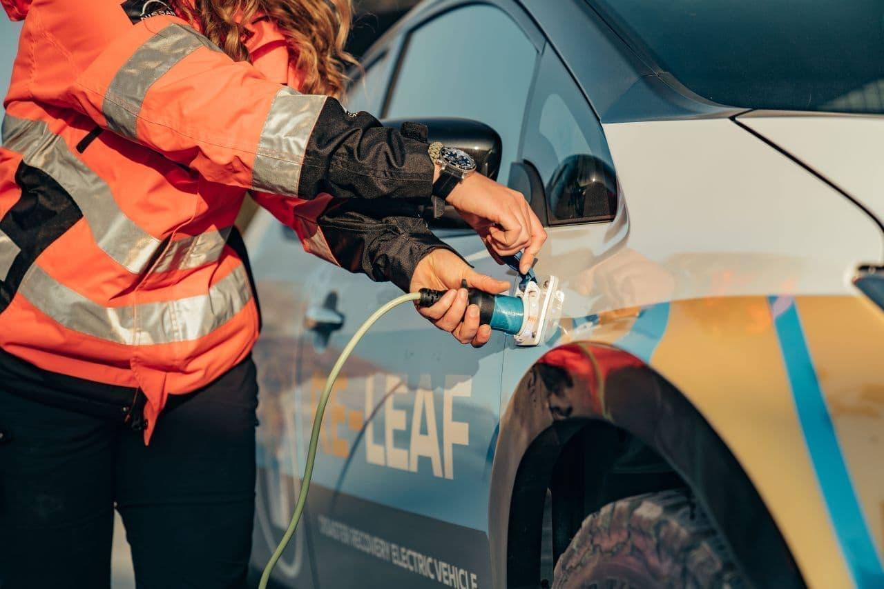 日産が災害復旧支援コンセプトカー「RE-LEAF」を公開