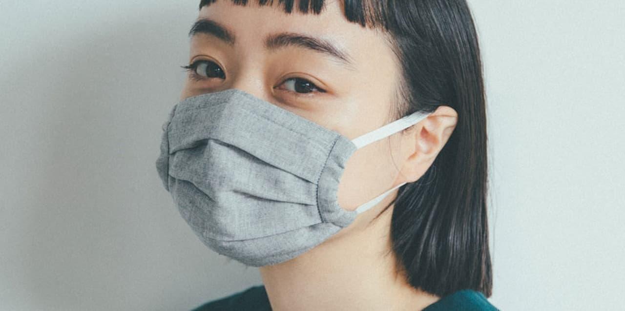 ほぼ日から「ビワコットンのマスク」再販 - 3色&3サイズにバリエーションを拡大