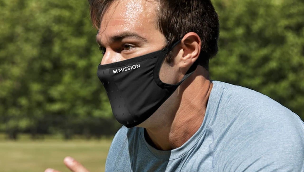 MISSIONから息がしやすいスポーツマスク「ADJUSTABLE SPORT MASK」発売